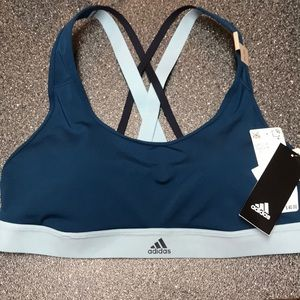 NWT adidas strappy sports bra